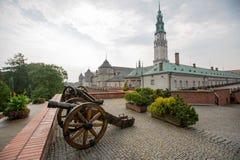 Kloster av Jasna Gora i Czestochowa Arkivbilder