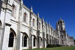 Kloster av jeronimos Arkivfoton