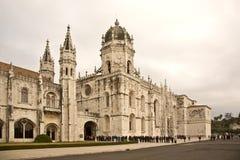 Kloster av jeronimos Royaltyfri Bild