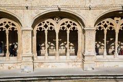 Kloster av jeronimos Arkivbild