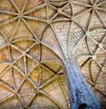 Kloster av jeronimos Arkivbilder