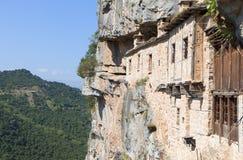 Kloster av Kipina i Grekland Royaltyfria Bilder