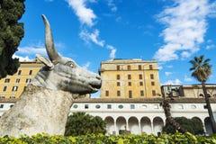 Kloster av kloster av Certosini i Rome, Italien royaltyfri fotografi