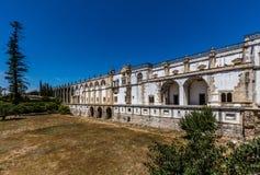 Kloster av Kristus i Tomar, Portugal Arkivfoto