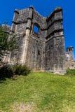Kloster av Kristus i Tomar, Portugal Arkivbilder