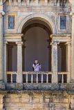 Kloster av Kristus, portugisisk historisk kloster och slott från 1520 royaltyfri foto