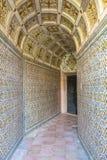 Kloster av Kristus Tomar, Lissabon Portugal Fotografering för Bildbyråer