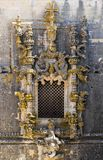 Kloster av Kristus, Tomar, Portugal arkivbilder