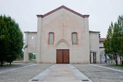 Kloster av meddelat som lokaliseras på abbiategrassoen en landscl royaltyfri bild