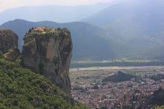 Kloster av Meteora Arkivfoton