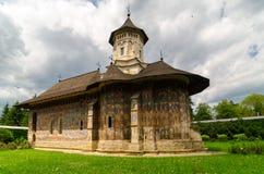 Kloster av MoldoviÈ› a, Rumänien Arkivbilder