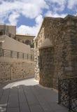 Kloster av Panayiaen Kera.Island av Kreta Arkivbild