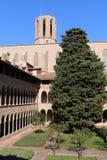Kloster av Pedralbes Royaltyfria Bilder