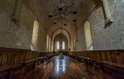 Kloster av Poblet, Tarragona, Spanien Royaltyfria Foton