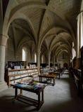 Kloster av Poblet, Tarragona, Spanien Arkivbild