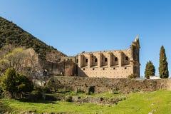 Kloster av San Francescu nära Castifao i Korsika arkivbild