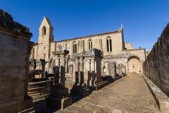 Kloster av Santa Clara Velha i Coimbra, Portugal Fotografering för Bildbyråer