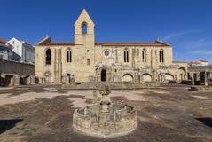Kloster av Santa Clara Velha i Coimbra, Portugal Arkivfoton