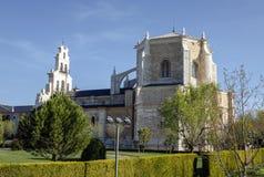 Kloster av Santa Maria de la Vid arkivfoton