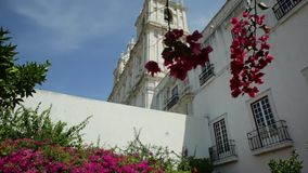 Kloster av Sao Vicente de Fora arkivfilmer
