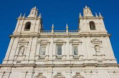 Kloster av Sao Vicente de Fora Facade arkivbild