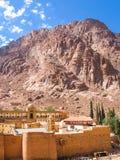 Kloster av St Catherine Egypt Fotografering för Bildbyråer