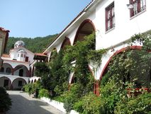 Kloster av St David Royaltyfri Bild