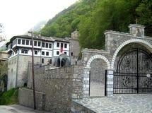 Kloster av St John det baptistiskt, Makedonien Arkivbild