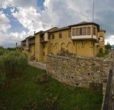 Kloster av St John precursoren nära Kerkini laken, Grekland Royaltyfria Bilder