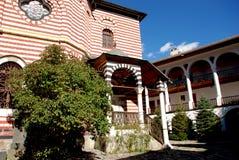 Kloster av St John Rilski, Rila berg, Bulgarien Royaltyfri Foto