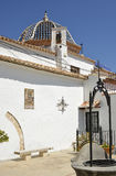 Kloster av St Michael, Lliria, Spanien Arkivbilder
