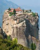 Kloster av St Nicholas i Grekland Royaltyfri Bild