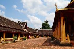 Kloster av Wat Si Saket Royaltyfri Fotografi