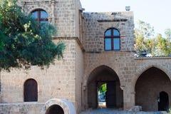 Kloster Ayia Napa royaltyfria bilder