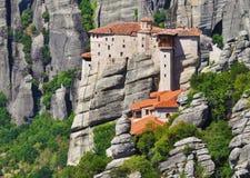 Kloster bei Meteora, Griechenland Lizenzfreies Stockfoto
