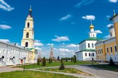 Kloster Bogoyavlensky Staro-Golutvin Stockbild