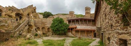 Kloster David Garedji Arkivbild