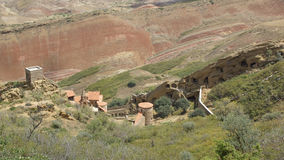Kloster David Garedji, Kakheti; Georgia Europa arkivbilder