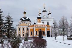Kloster Davidova Pustin. Moscow region. Ryssland. Royaltyfri Fotografi
