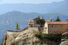 Kloster in den Bergen Stockfotos
