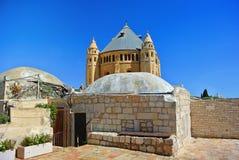 Kloster der Annahme der gesegneten Jungfrau Die deutsche katholische Abtei nahe den Toren von Zion, Jerusalem israel Stockfotos