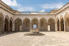 Kloster der Benediktinerabtei von Monte Cassino Italy Lizenzfreie Stockfotografie