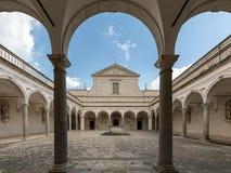 Kloster der Benediktinerabtei von Montecassino Lizenzfreies Stockfoto