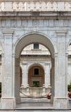Kloster der Benediktinerabtei von Montecassino Stockfotos