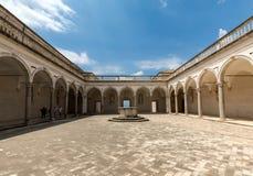 Kloster der Benediktinerabtei von Montecassino Italien Lizenzfreie Stockfotografie