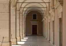 Kloster der Benediktinerabtei von Montecassino Italien Lizenzfreies Stockbild
