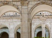 Kloster der Benediktinerabtei von Montecassino Italien Stockfoto
