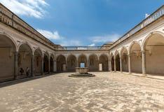 Kloster der Benediktinerabtei von Montecassino Italien Lizenzfreie Stockfotos