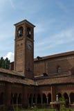 Kloster der Chiaravalle Abtei Lizenzfreie Stockfotografie