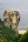 Kloster der Heiligen Dreifaltigkeit bei Meteora stockfotografie